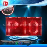Heiße verkaufenP10 im Freien Zeichen LED-Bildschirmanzeigen der roten Farben-LED