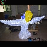 De Lichte Engel van de LEIDENE Decoratie van de Vakantie