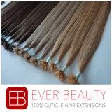 U-Derrubar extensões européias do cabelo humano da queratina