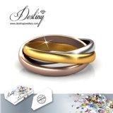 Het Kristal van de Juwelen van het lot van Swarovski 3 de Ring van Koninkrijken