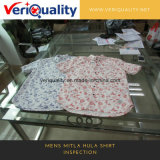 De Dienst van de Inspectie van /Quality van de Kwaliteitsbeheersing Van het Overhemd van Mitla Hula van Mens