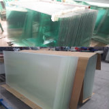 3-19mm Atacado Vidro, Clear Float Flat / Curved Tempered Glass Panel
