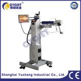 machine Cycjet d'inscription de laser de fibre de pipe de PVC 20W