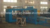 Máquina de costura da Semi-Auto caixa ondulada da Duplo-Cabeça