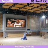 Pantalla de visualización publicitaria video de fundición a presión a troquel de interior de LED de la etapa de P3mm