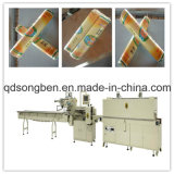 Machine à emballer de rétrécissement de lait