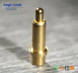 Kundenspezifischer Loch-Gold-Plated Messingaufladeeinheit Pogo Pin-Verbinder