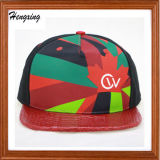 Sombrero de encargo del Snapback con su propia insignia
