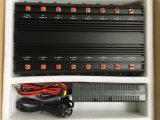 Emittente di disturbo registrabile dell'emittente di disturbo/Lojack/315/433/868MHz del walkie-talkie dell'emittente di disturbo del segnale di frequenza ultraelevata di WiFi GPS Jammer/VHF dell'emittente di disturbo del telefono delle cellule di alto potere della fascia tutta compresa di frequenza 16