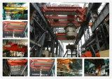 Guindaste elétrico da carcaça do equipamento de levantamento da concha para a fábrica de aço