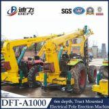 Dft-A1000 말뚝박는 기구는, 드릴링 기계를 Auger