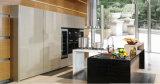 Mobília UV popular nova da cozinha 2017 (ZX-048)