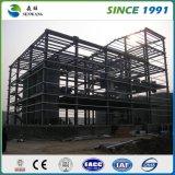 Vorfabriziertes Stahlkonstruktion-Gebäude für Büro-Werkstatt-Lager-Schule