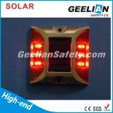 Amarelo Branco Azul Vermelho LED alumínio Solar Road Stud Lights