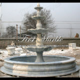 Fonte de mármore Mf-277 de Metrix Carrara da fonte do granito da fonte da pedra da fonte