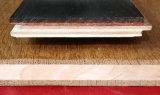 Plancher de parquet massif de 3 plis Merbau parquetant le plancher en bois