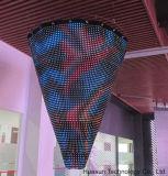 Flexibler LED-Bildschirmanzeige-Vorhang-Bildschirmanzeige-Leichtgewichtler