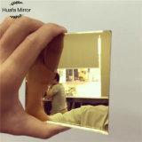 Vinilo decorativo de cristal del chaflán del color del espejo del espejo azul rosado de oro de plata de la hoja 3m m 4m m 5mm-10m m