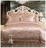 サテンの綿のジャカードホーム使用の寝具