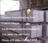 Q195-235, ASTM A283, Ss400, S235jr, barra plana laminada en caliente, de acero