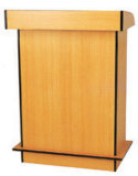Tipo Rostrum & pódio de madeira materiais de madeira da mobília de escola