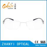 Стекел Eyeglass Eyewear способа рамка Semi-Rimless Titanium оптически (8203)
