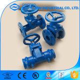 Válvula de porta não de aumentação da haste do ferro de molde da classe 125 de DIN3352 F4/F5