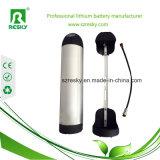 bloco da bateria de lítio da garrafa de água de 24V 20ah para Ebike