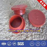 Cuadrado al por mayor Negro PVC accesorios de tubería de plástico Cap / Plug