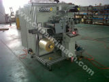 회전하는 Label Die Cutting 및 Slitting Machine