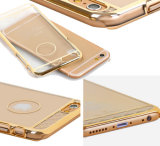 Laser novo Etching Argumento Cover do PC de Gold para o iPhone de Apple 6 4.7 Caso