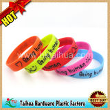 Förderung Gift 1 Inch Silicone Wristband mit Color Filled (TH-6860)