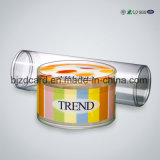 Transparent PVC Plastic Packaging Cylinder Box