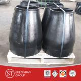 Instalación de tuberías de acero inoxidable de la instalación de tuberías de acero de carbón del reductor de la estafa