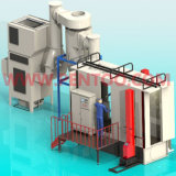Color veloce Changing Powder Coating Machine con ISO9001