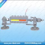 De reflex/Transparante Vlakke Meter van het Niveau van het Glas van het Gezicht Vloeibare/Vlakke Maat