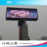 Buen Rendimiento P10 SMD deportes al aire libre pared del LED exhibición de pantalla con un polo