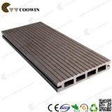 Decking plástico de madeira Tw-02b do composto WPC do material de construção