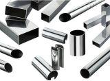 Tubo della scanalatura dell'acciaio inossidabile ASTM-A554 304 316 per il corrimano