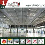 回転展覧会のための熱の屋根の立方体の構造のテント