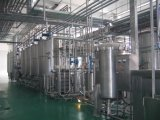 Fábrica de tratamento automática cheia do leite de Uht 2000L/H com pacote asséptico