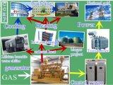 CE& ISOの証明書が付いているBiogas/のごみ処理のガスの天燃ガスの発電機