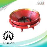 Alta capa de la trituradora del cono del acero de manganeso
