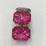 De hete Verkopende Veelkleurige armband van de Legering met de Armband van de Juwelen van de Steen van het Glas