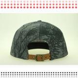 2016 sombrero plano en blanco de encargo del casquillo del Snapback del panel del borde 6