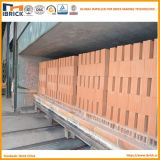 自動煉瓦トンネルキルンのプロジェクトは構築を構築した