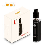 Jomo 2600mAh 80W ultra 80 Tc Vaporizer mit Rdta Rebuildable DIY Ring