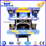 35ton ampliamente utilizada 40FT cama plana camión contenedor usado para la venta