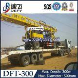 máquina Drilling montada da perfuração do poço de água de 300m reboque Multi-Functional