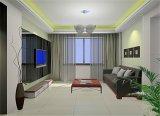 La televisión de fondo del hogar de vidrio templado / Glass Interiores / Decoración de pared de cristal para la decoración